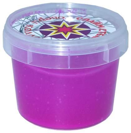 Слайм Новая Химия Стекло Party Slime фиолетовый неон 00-00001266