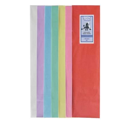 Бумага многоразовая натуральная для папильоток для собак Show Tech 40*10 см, 100 шт/уп.