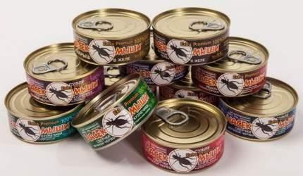 Суфле для грызунов Насекомыши, с кроличьей печенью и цельным опарышем, 95гр