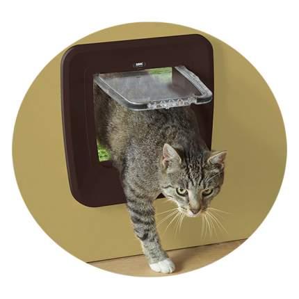 Дверца для кошки, собаки Savic Upgradable 28,5*29,5см, коричневый