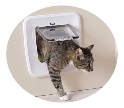 Дверца для кошки, собаки Savic Upgradable 28,5*29,5 см белый