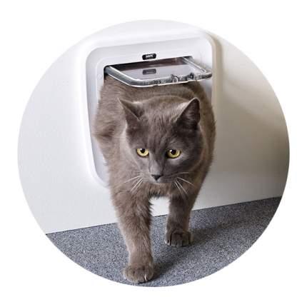 Дверца для кошки, собаки Savic Classic 24*25см, белый