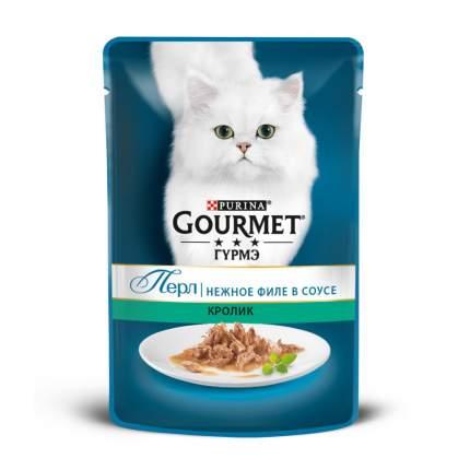 Влажный корм для кошек Gourmet Perle , кролик, 85г
