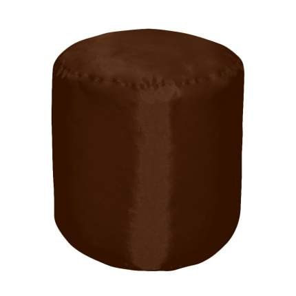 Бескаркасный пуф-цилиндр Pazitif БМО10 one size, оксфорд, Шоколад