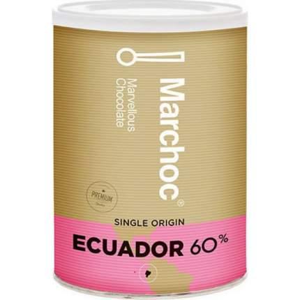 Горячий шоколад Marchoc с повышенным содержанием какао 60%, Эквадор, 400 гр.