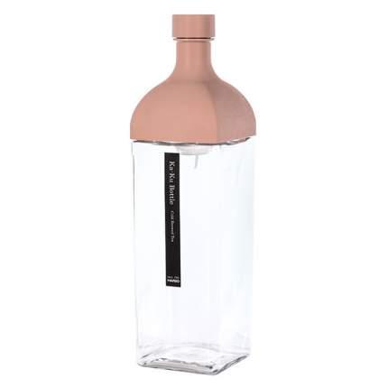 Бутылка для заваривания HARIO Ka-ku Bottle KAB-120-SPR, 1200 мл., пепельно-розовый