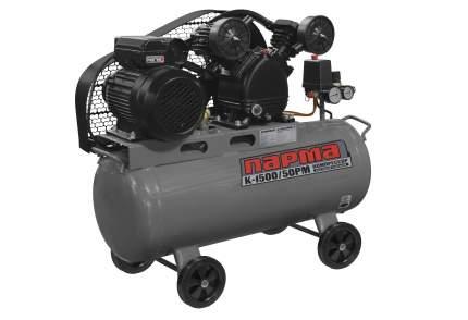 Поршневой компрессор Парма K-1500/50РМ масляный 202л/мин 50л 1500Вт серый/черный