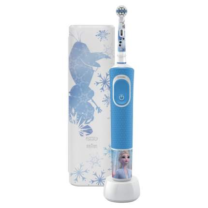 Зубная щетка электрическая Braun Oral-B Vitality Kids Холодное сердце 2 (D100.413.2KX)
