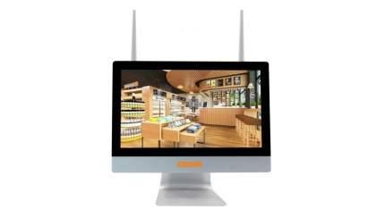Готовый комплект видеонаблюдения CARCAM KIT-1080/4 LCD 4 камеры