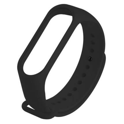 Ремешок силиконовый Krutoff для Xiaomi Mi Band 3/4 (black)