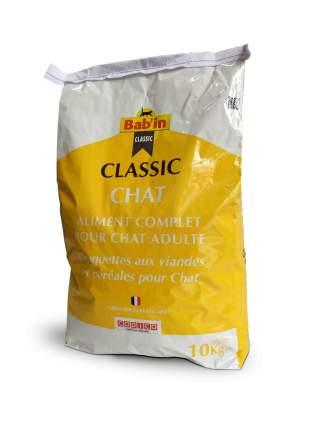 Сухой корм для кошек Babin Classique Classic Chat , курица,  0.1кг