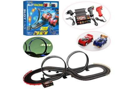 Гоночный трек CS Toys JJ83-2 Ралли от сети 1:43, длина трека 500 см