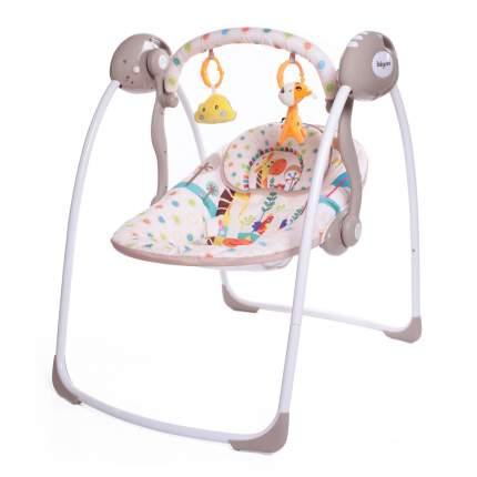 Электрокачели Babycare SAFARI с адаптером, Жираф (Giraffe)
