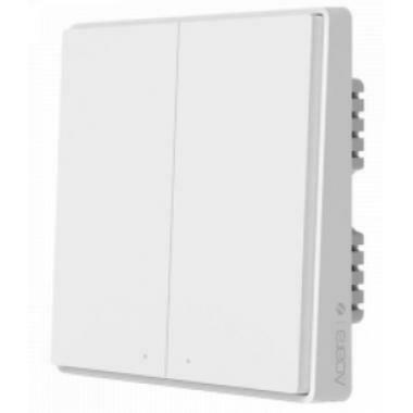 Умный выключатель Aqara Wall Light Switch Double Key Edition (QBKG22LM)