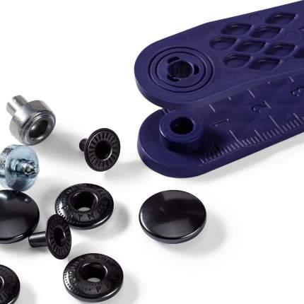 Кнопки Анорак черные PRYM, 390302