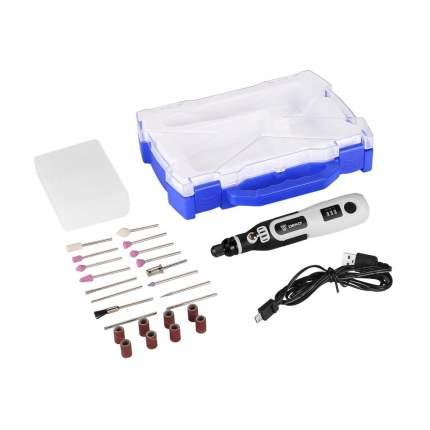 Аккумуляторный гравер 3,6В в кейсе DEKO DKRT3.6-Li SET 063-1400