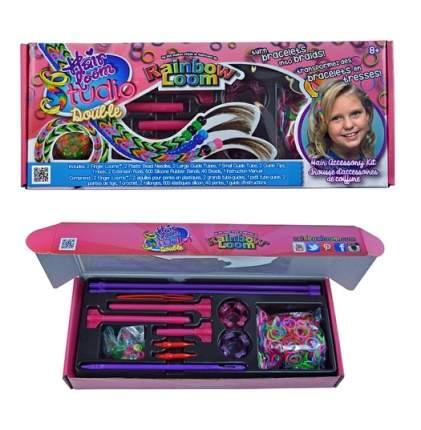 Набор для плетения украшений для волос Rainbow Loom Hair Loom Studio Double