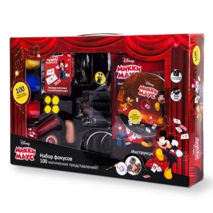 Набор для демонстрации фокусов Маленький маг Disney Mickey Mouse (100 фокусов)