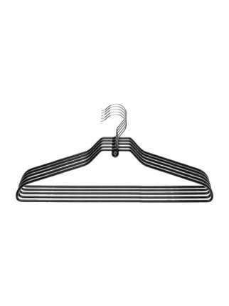 Набор вешалок универсальных NEO BLACK&WHITE 42см 5шт