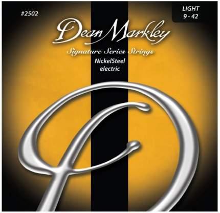 Струны для электрогитары DEAN MARKLEY 2502 Signature 9-42, Dean Markley (Дим Марклей)