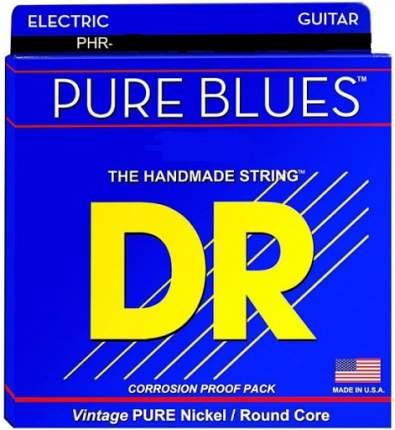 Струны для электрогитары DR Strings DR PHR-11 Pure Blues 11-50