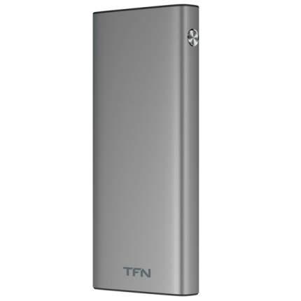 Внешний аккумулятор TFN Steel LCD PD 10000 мАч Grey (PB-228-GR)