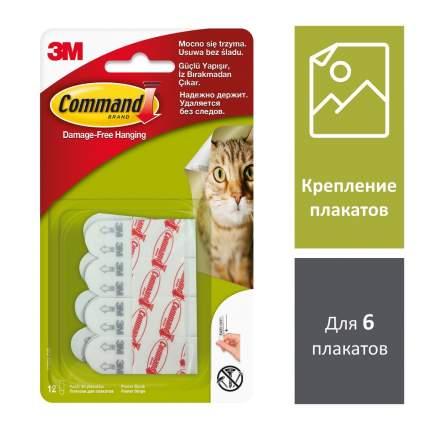 Набор Command 17024-2 Полоски для плакатов белые 12 шт., 1 набор/2уп