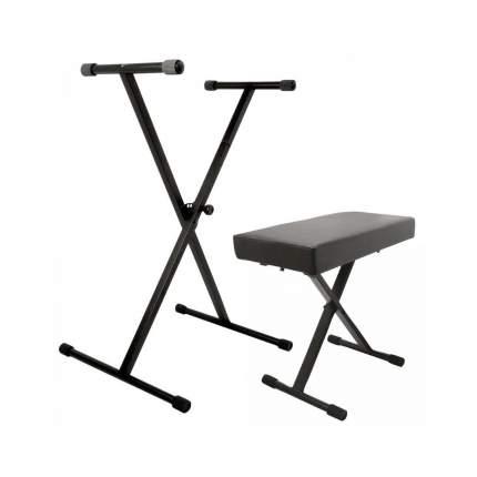 Стойка для клавишных OnStage KPK6500 стул в комплекте