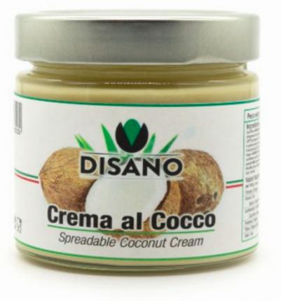 "Сладкая крем-паста с кокосом без глютена ""DISANO"", артикул CR5108"
