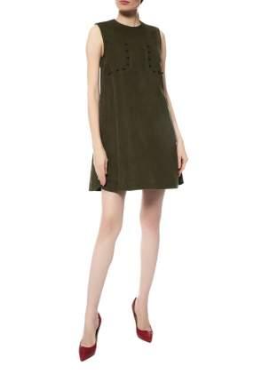 Платье женское SPORTMAX 29-SP22261179 зеленое 40 IT