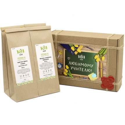 """Подарочный набор 101 Чай """"Любимому учителю"""", 4 вида чая по 40 г"""