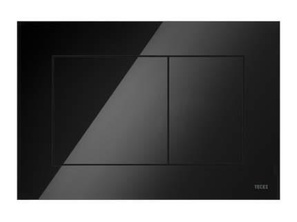 Пластиковая панель смыва TECEnow черная глянцевая