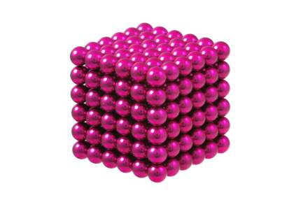 Куб из магнитных шариков Forceberg Cube 5 мм, розовый, 216 элементов