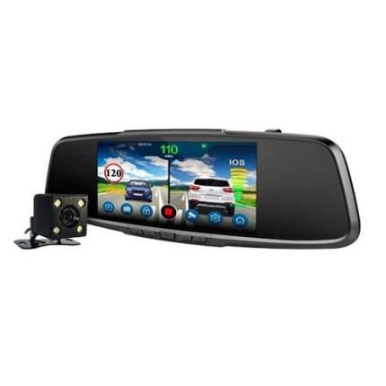 Салонное зеркало заднего вида с регистратором с радар-детектором PLAYME VEGA Touch,  GPS