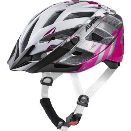 Велосипедный шлем Alpina Panoma 2.0, pearl white/magenta, M