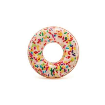 Круг надув Donut кофетный, 114см, от 9 лет (боится холода)