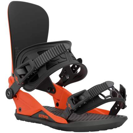 Крепление для сноуборда Union Strata 2021, оранжевое, M