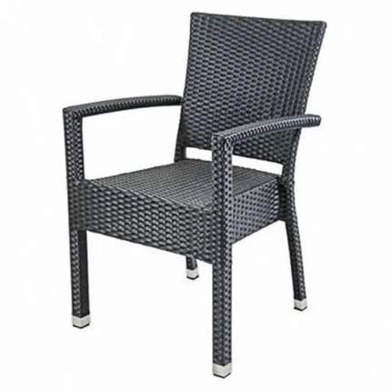 Садовое кресло Metro professional Barbados black 61х57х86 см