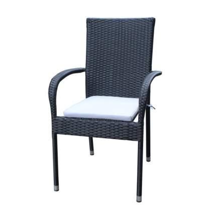 Садовое кресло Metro professional black 61х57х86 см