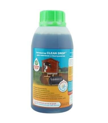 Активатор Clean Drop для септиков и биотуалетов 0,5 л