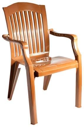 Садовое кресло Стандарт Пластик Премиум-1 №7 brown 56х45х90 см