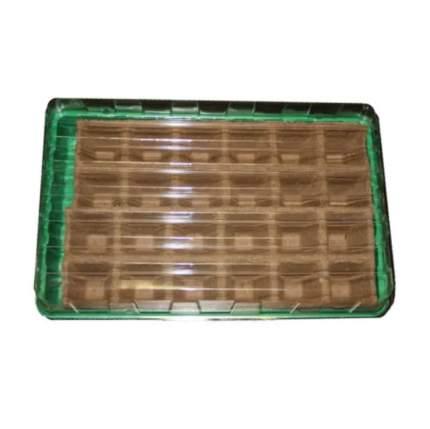 Минипарник Экоторф для выращивания рассады с торфяными горшочками