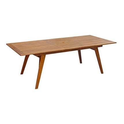 Стол для дачи Tarrington House 656159 brown 180x100x75 см