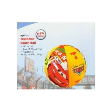 Мяч надув Тачки, 61 см, от 3 лет (боится холода)