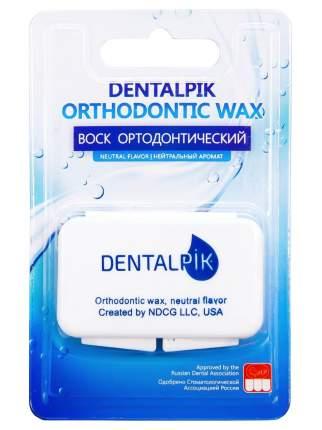 Воск для брекетов Dentalpik Orthodontic Wax, нейтральный, прозрачный