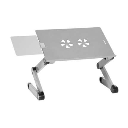 Стол для ноутбука CACTUS CS-LS-T8, серебристый