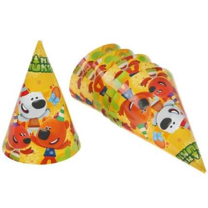 Праздничные колпачки, набор из 6шт, Ми-ми Мишки Веселый праздник
