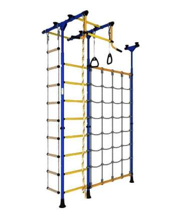 Шведская стенка ROMANA Карусель R3 ДСКМ-3-8.06.Т.490.01-65 (синий/желтый)
