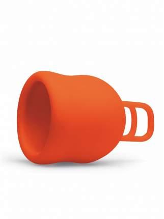 """Менструальная чаша """"Merula"""" оранжевая XL"""