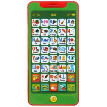 Телефон ЖУКОВА М.А азбука, 150 песен, вопросов и звуков, на бат., на блистере Умка